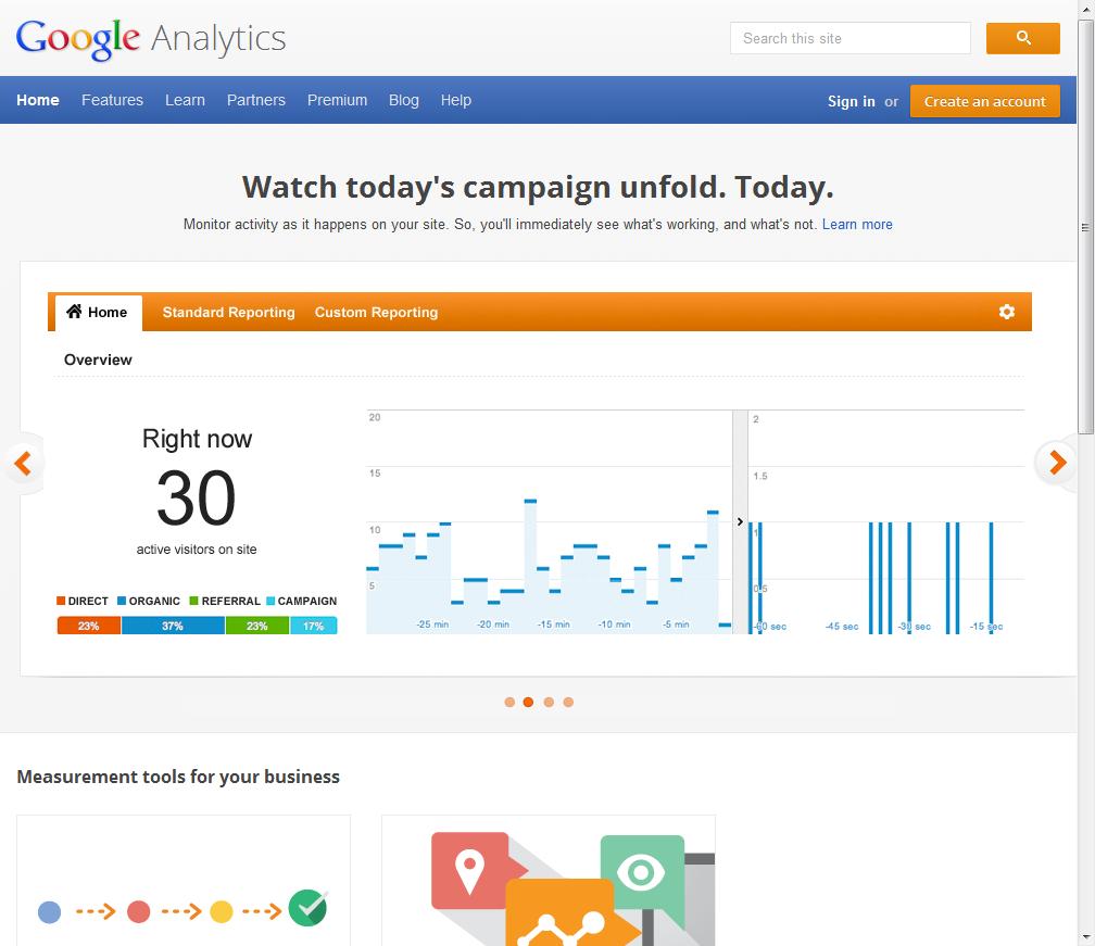 Setting Up Google Analytics 1 Google Analytics