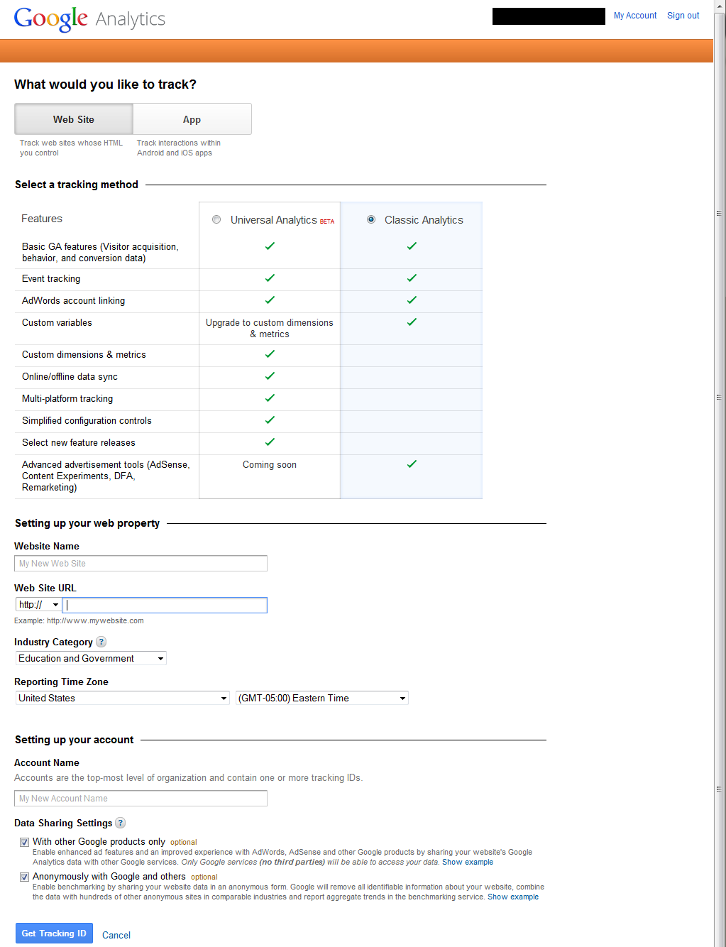 Setting Up Google Analytics 4 google analytics setup 1