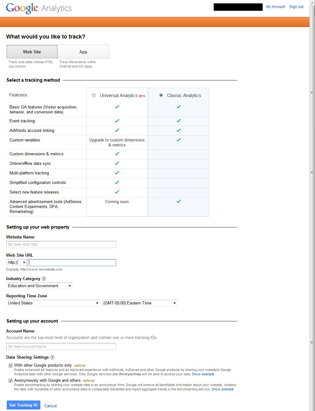 Setting Up Google Analytics 4 google analytics setup 1