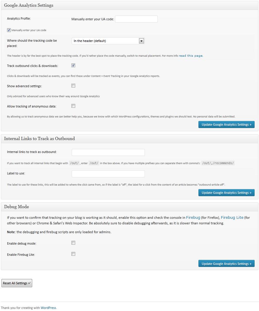 Setting Up Google Analytics 7 Google Analytics in WordPress
